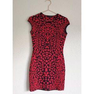 {new} RVN Animal Leopard Print Bodycon Bandage